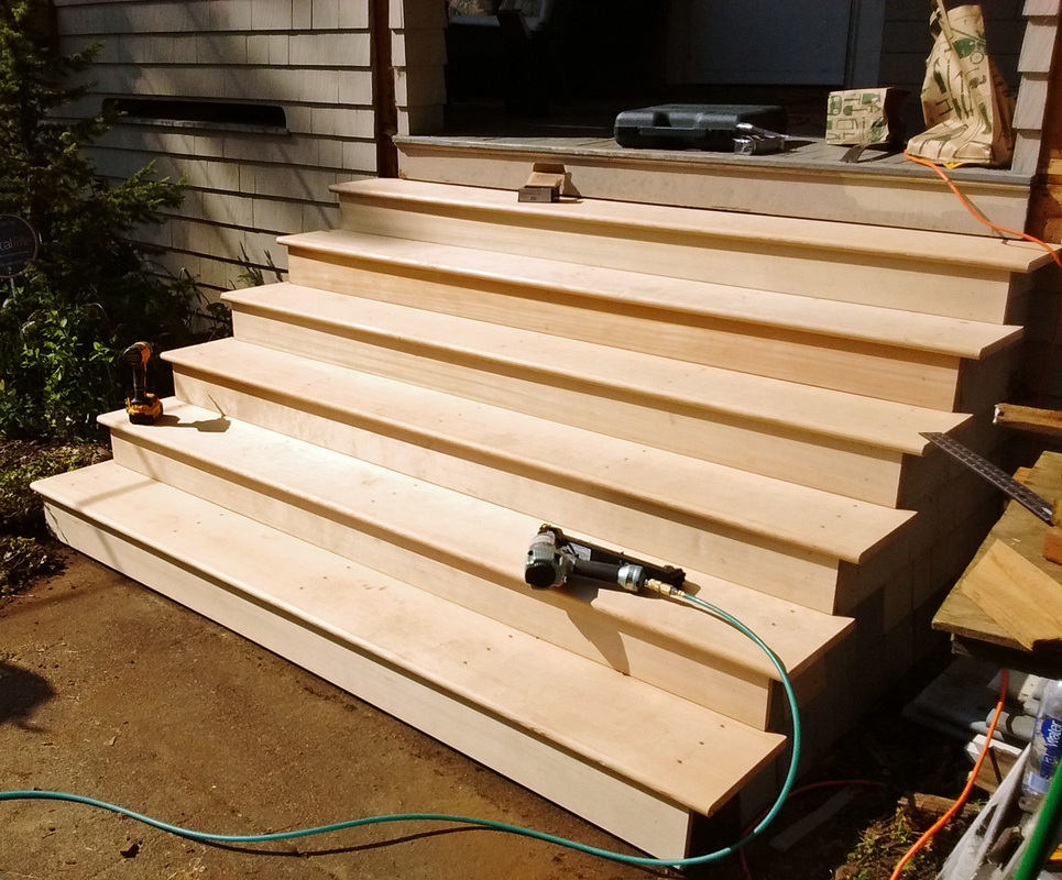 Wood Step And Stair Repair And Rebuild In Portland Or